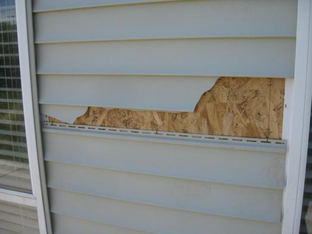 No Moisture Barrier Under Siding on Boise Home Inspection